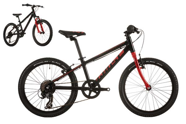 POWERKID 20 black-red rigid SV MG 0149